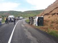 Polisleri Taşıyan Otobüs Devrildi Açıklaması 11 Yaralı