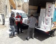 Sel Mağduru Ailelere Kızılay'dan Yardım