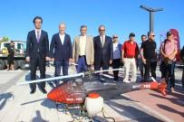 ARAZİ ARACI - Tankla, Helikopter İle Haşereye Savaş Açtılar