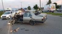 YENIKENT - Trafik Kazasında Can Pazarı Açıklaması 6 Yaralı