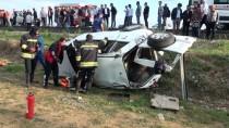 Yozgat'ta Otomobil Şarampole Devrildi Açıklaması 3 Ölü