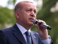 Cumhurbaşkanı Erdoğan: Uçak fabrikasını kapatıp gaz ocağı fabrikasına çevirdiniz