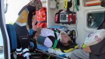 Aracın Kopan Aksı Otobüsün Ön Camından Girdi Açıklaması 7 Yaralı
