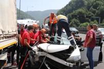 BOLU DAĞı - Bolu Dağı'nda Feci Kaza Açıklaması 1 Ölü, 2 Yaralı