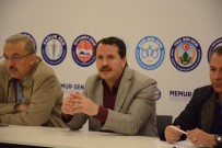 BAŞÖRTÜSÜ - Memur-Sen 28'İnci Genişletilmiş Başkanlar Kurulu Toplantısı Ankara'da Yapıldı