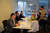 KAMU PERSONELİ - New York'ta Oy Kullanma İşlemleri Başladı