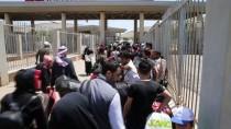 CİLVEGÖZÜ SINIR KAPISI - Suriyelilerin Cilvegözü Sınır Kapısı'ndan Çıkışları Sürüyor