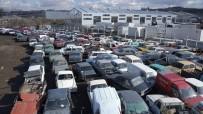 HURDA ARAÇ - Türkiye'de 3 Yıl İçinde Hurdaya Ayrılan Araç Sayısı 277 Bin 835 Oldu