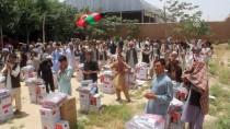 HACI BAYRAM - Afganistan'daki Türk Birliğinden Savaş Mağduru Ailelere Yardım