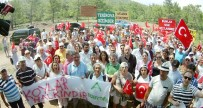 İNŞAAT FİRMASI - Antalya'da Çevrecilerden Kleopatra Koyu Eylemi