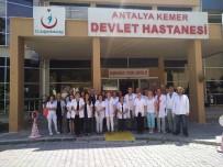 İŞ KAZASI - Antalya'da Hekimlerden Darp Edilen Hekime Destek