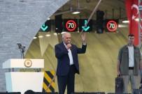 ÇEVRE KIRLILIĞI - Başbakan Yıldırım, Sabuncubeli Tünelleri'ni Hizmete Açtı