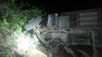Elazığ'da Trafik Kazası Açıklaması 5 Yaralı, 50 Hayvan Telef  Oldu
