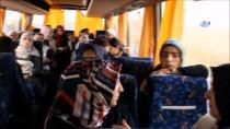 ESRA ŞAHIN - Fransa'da Türk Seçmenler Oy İçin Otobüsle 600 Kilometre Yol Katettiler