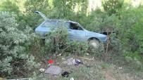 TERMAL TURİZM - Hisarcık'ta Trafik Kazası Açıklaması 4 Yaralı
