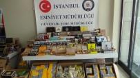 ELEKTRONİK SİGARA - İstanbul'da Puro Ve Sigara Operasyonu Açıklaması 23 Bin 423 Paket Puro Ve Sigara Ele Geçirildi