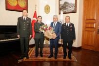 OSMAN KıLıÇ - Jandarma'dan Vali Doğan'a Ziyaret