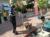 TOPLUM DESTEKLI POLISLIK - Kadın Polis Memuru Yaralı Kediye Duyarsız Kalamadı
