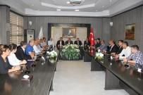 MEHMET ÖZMEN - MHP Milletvekili Adaylarından GTB'ye Ziyaret
