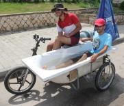 LİSE ÖĞRENCİSİ - Adanalı gençler serinlemek için 'Motoküvet' yaptı