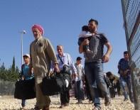 ÖZGÜR SURİYE ORDUSU - Ramazan Bayramı İçin Giden Suriyelilerin Sayısı 46 Bini Aştı