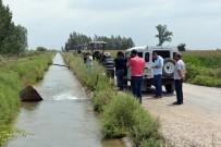 SULAMA KANALI - Sulama Kanalında Erkek Cesedi Bulundu