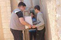 KURU FASULYE - Suriyelilere Bayram Yardımı