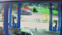 AHMET TURAN - Tokat'ta Trafik Kazası Kameralara Yansıdı