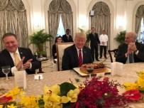 SİLAHSIZLANMA - Trump Tarihi Zirve Öncesi Singapur Başbakanıyla Görüştü