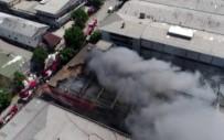 Yangının Son Hali Havadan Görüntülendi
