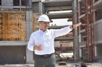 ADEM MURAT YÜCEL - Yücel Açıklaması 'Yeni Belediye Binası Yüzde 60 Tamamlandı'