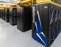 ABD dünyanın en hızlı süper bilgisayarını yaptı