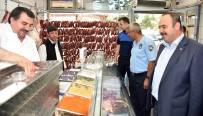 ET ÜRÜNLERİ - Afyonkarahisar'da Zabıta Bayram Denetimi Yaptı