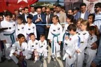 FUTBOL SAHASI - AK Parti Grup Başkanvekili Turan, Gökçeada'da