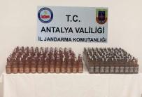 KAÇAK İÇKİ - Antalya'da Kaçak İçki Operasyonları