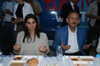 Bakan Sarıeroğlu Ve Bakan Özhaseki İftar Sofrasında Vatandaşlarla Buluştu
