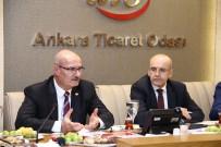 YOLCU TAŞIMACILIĞI - Başbakan Yardımcısı Mehmet Şimşek, ATO'da Sahur Toplantısına Katıldı