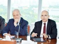 ORHAN AYDIN - Başbakan Yardımcısı Şimşek, ASO'da OSB Başkanlarıyla Bir Araya Geldi