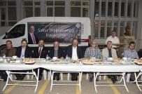 ABDULLAH ÖZER - Başkan Akgül Vatandaşlarla Sahur Yaptı