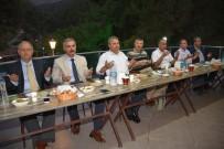 İSMAIL ÇORUMLUOĞLU - Başkan Çerçi Protokol Üyelerini İftarda Ağırladı