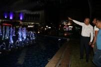 ANİMASYON - Başkan Vekili Aksoy, Fıskiyeli Havuzu İnceledi
