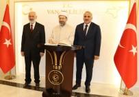 MUHABBET - Diyanet İşleri Başkanı Erbaş'tan Vali Zorluoğlu'na Ziyaret
