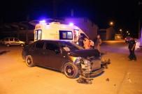 ARAÇ KULLANMAK - 'Dur' İhtarına Uymayınca Polislere Kaza Yaptırdı