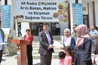 ALI ARSLANTAŞ - Erzincan'da 40 Çiftçiye 40 Kovan