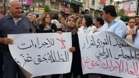 RAMALLAH - Gazze'deki Yaptırımlar Ramallah'ta Protesto Edildi