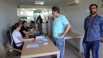 HAMZABEYLI - Gümrük Ve Sınır Kapılarında Oy Verme İşlemi Devam Ediyor