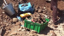 KERVANSARAY - İnşaat Kazısında İnsan Kemikleri Ve Sikke Bulundu