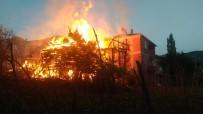 TÜP PATLAMASI - Kastamonu'da İki Katlı Ahşap Bina Cayır Cayır Yandı