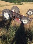 Kepsut'ta Traktör Kazası Açıklaması 1 Ölü