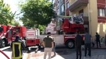 MEHMET ŞİMŞEK - Konya'da Apartmanda Yangın